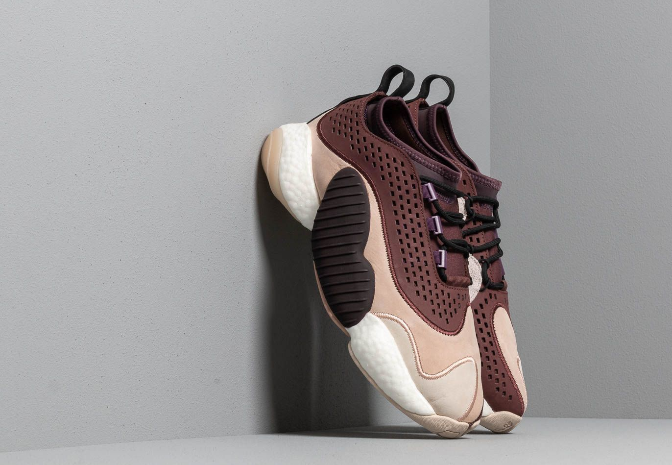 adidas Consortium x A Ma Maniére BYW LO Ash Pearl/ Deep Purple/ Night Red BB9486