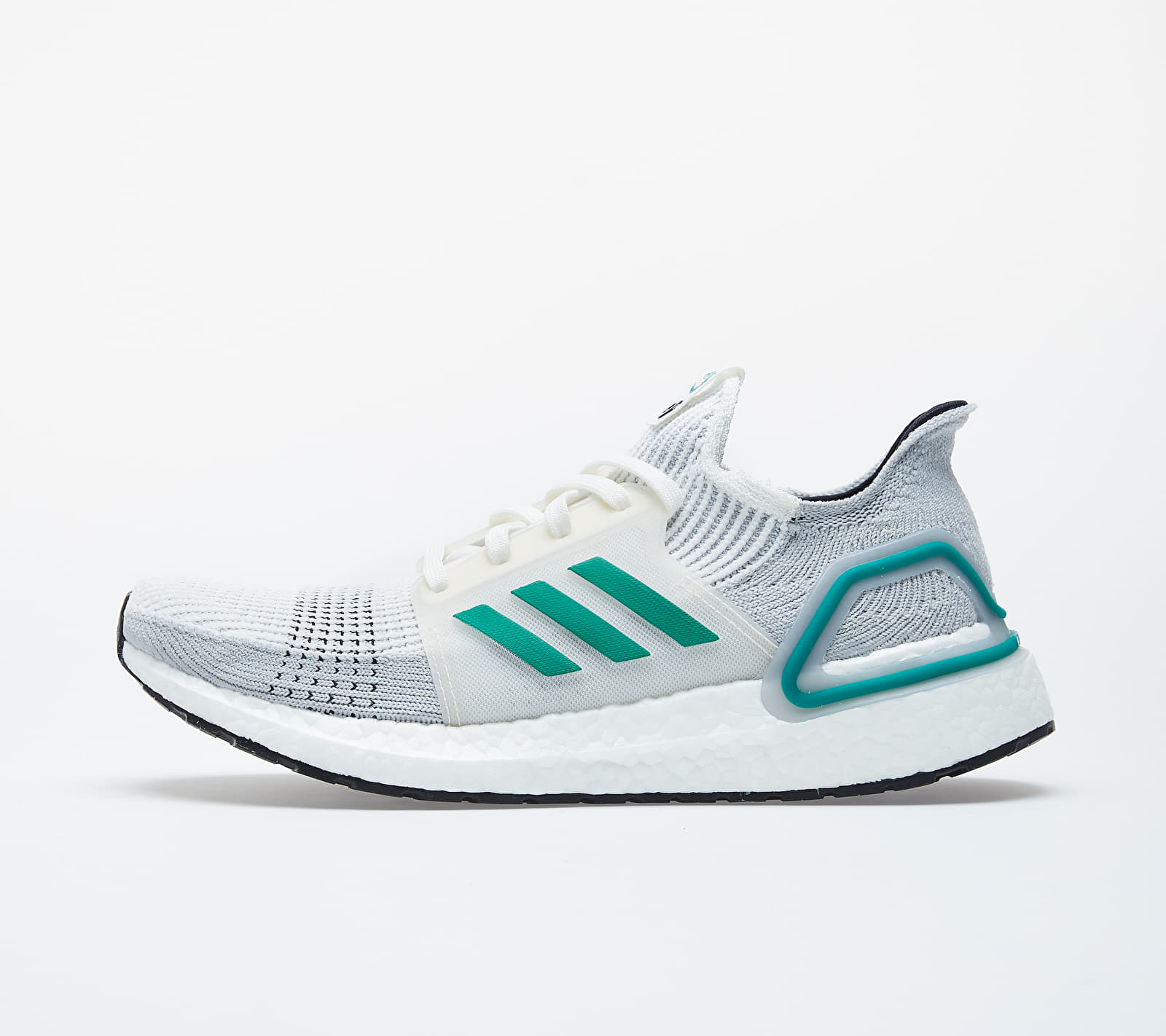 adidas Consortium UltraBOOST 19 Core White/ Sub Green/ Grey Two EE7517