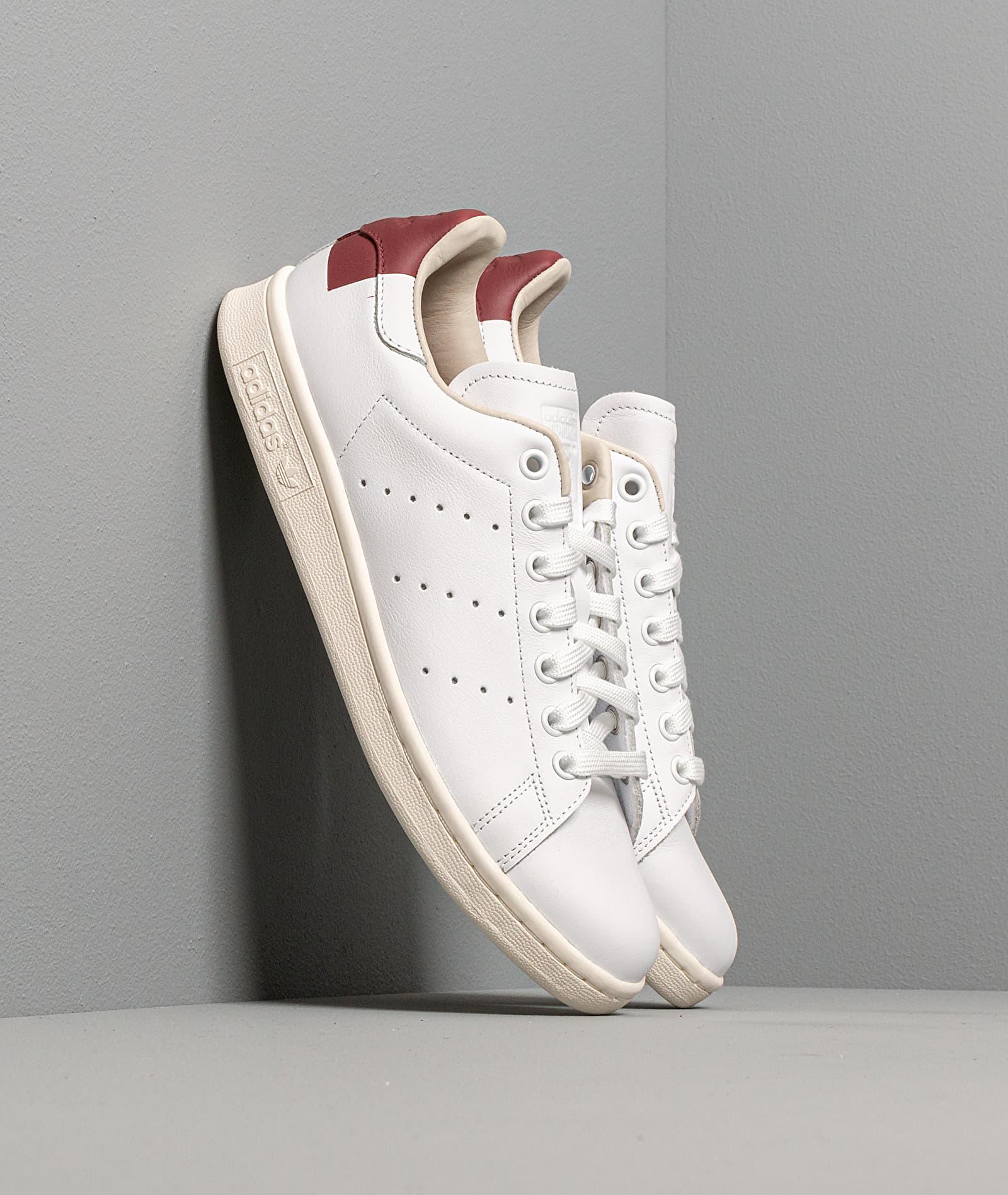 adidas Stan Smith Ftw White/ Core Burgundy/ Off White EE5784