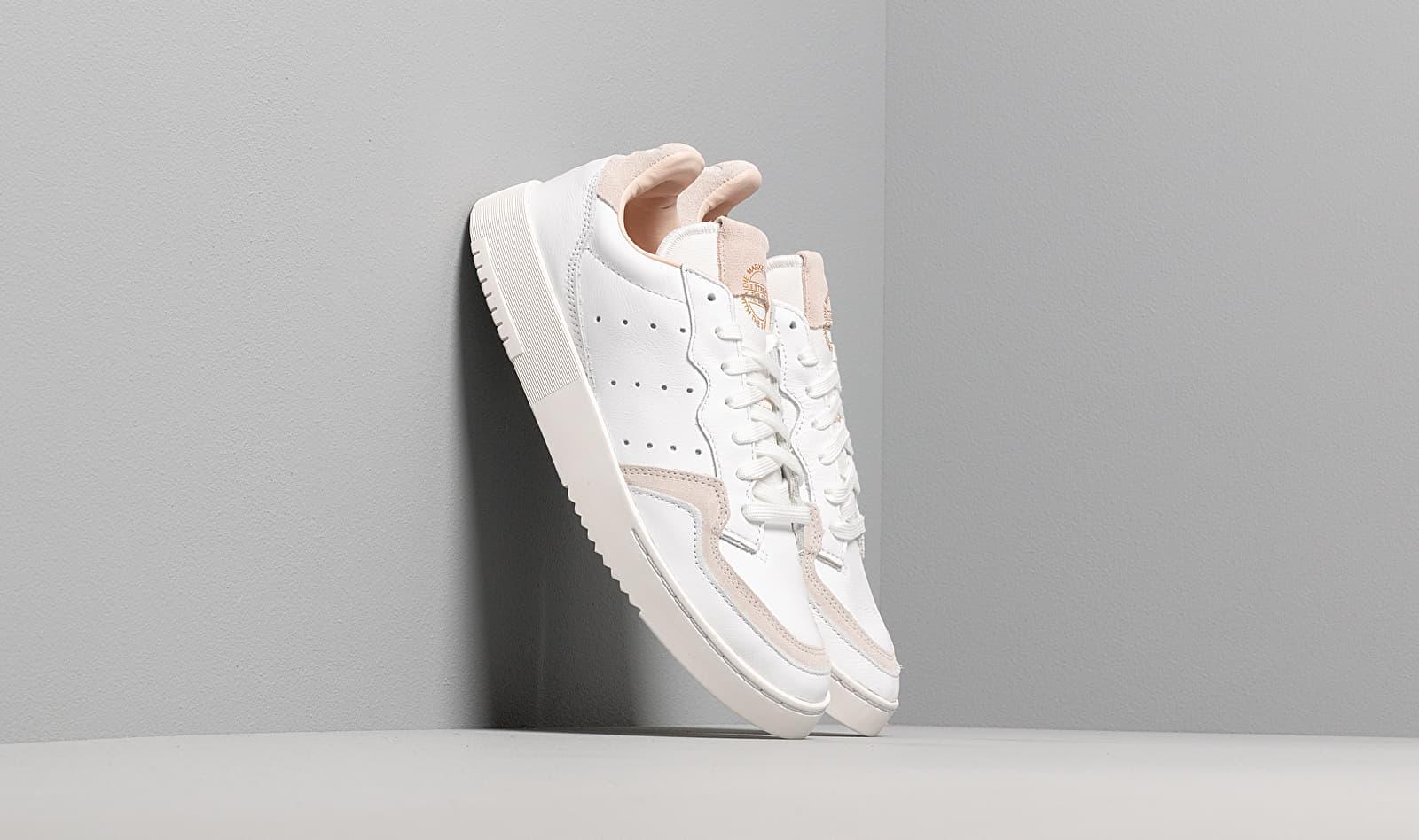 adidas Supercourt Ftw White/ Ftw White/ Crystal White EE6034