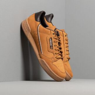 adidas Continental 80 Mesa/ Night Brown/ Eqt Yellow EG3098