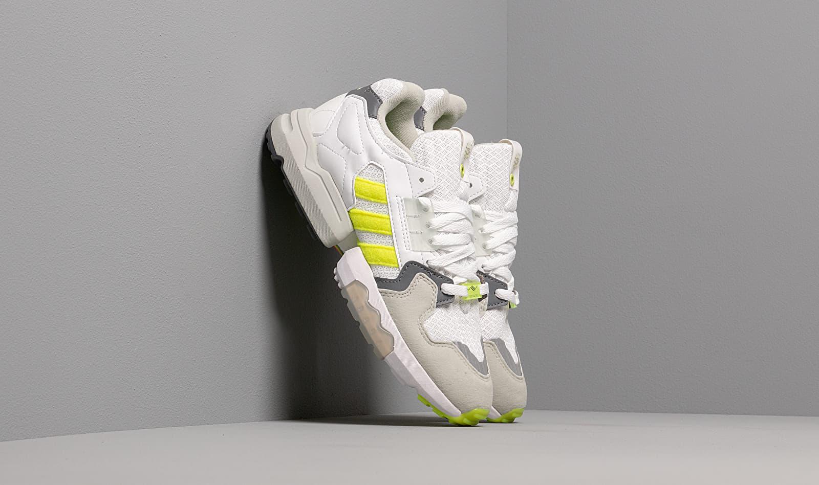 adidas Consortium x Footpatrol ZX Torsion Ftwr White/ Solar Yellow/ Ash Grey S18 EF7681
