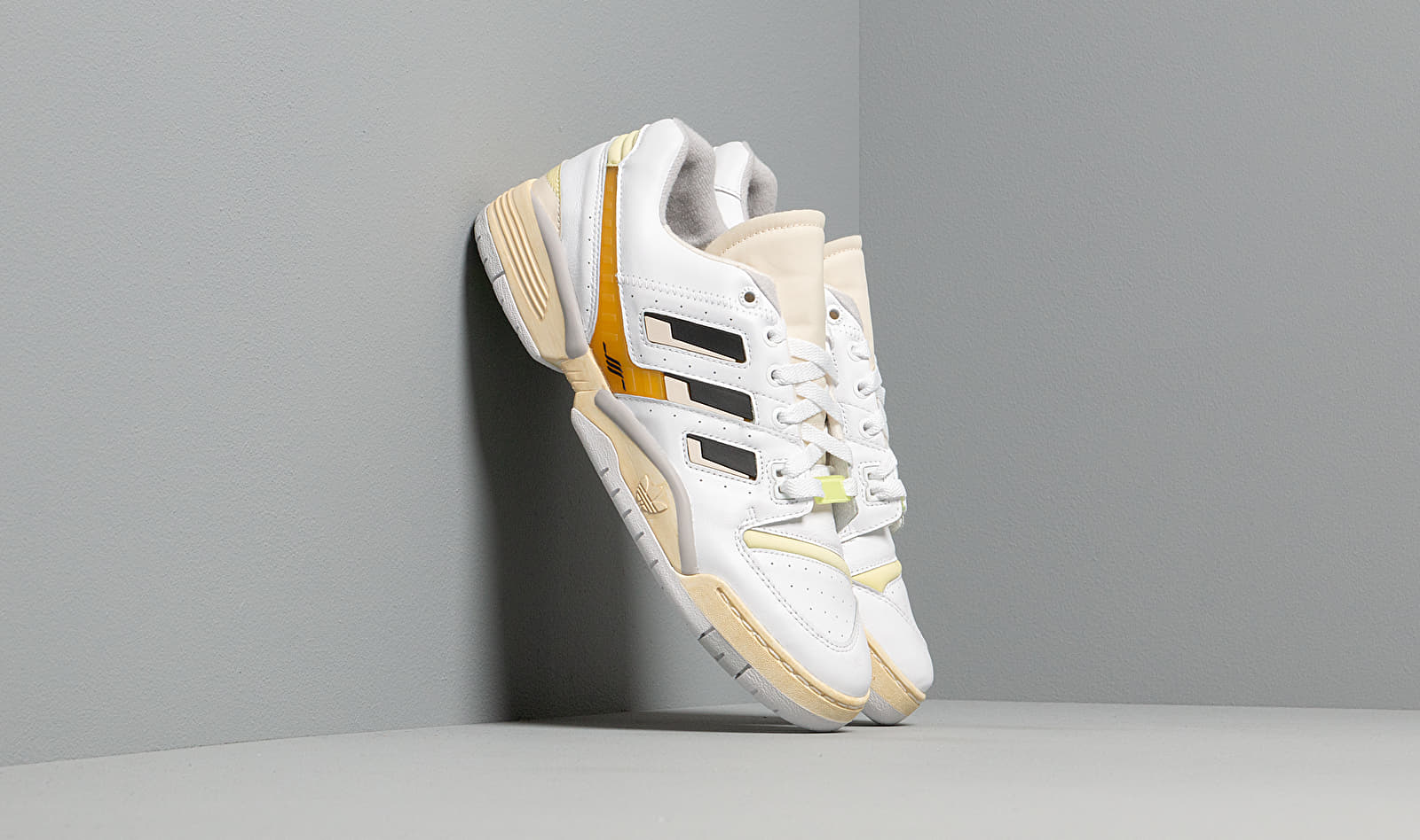 adidas Consortium x Highs and Lows Torsion Edberg Ftw White/ Core Black/ Blue Yellow EF0149