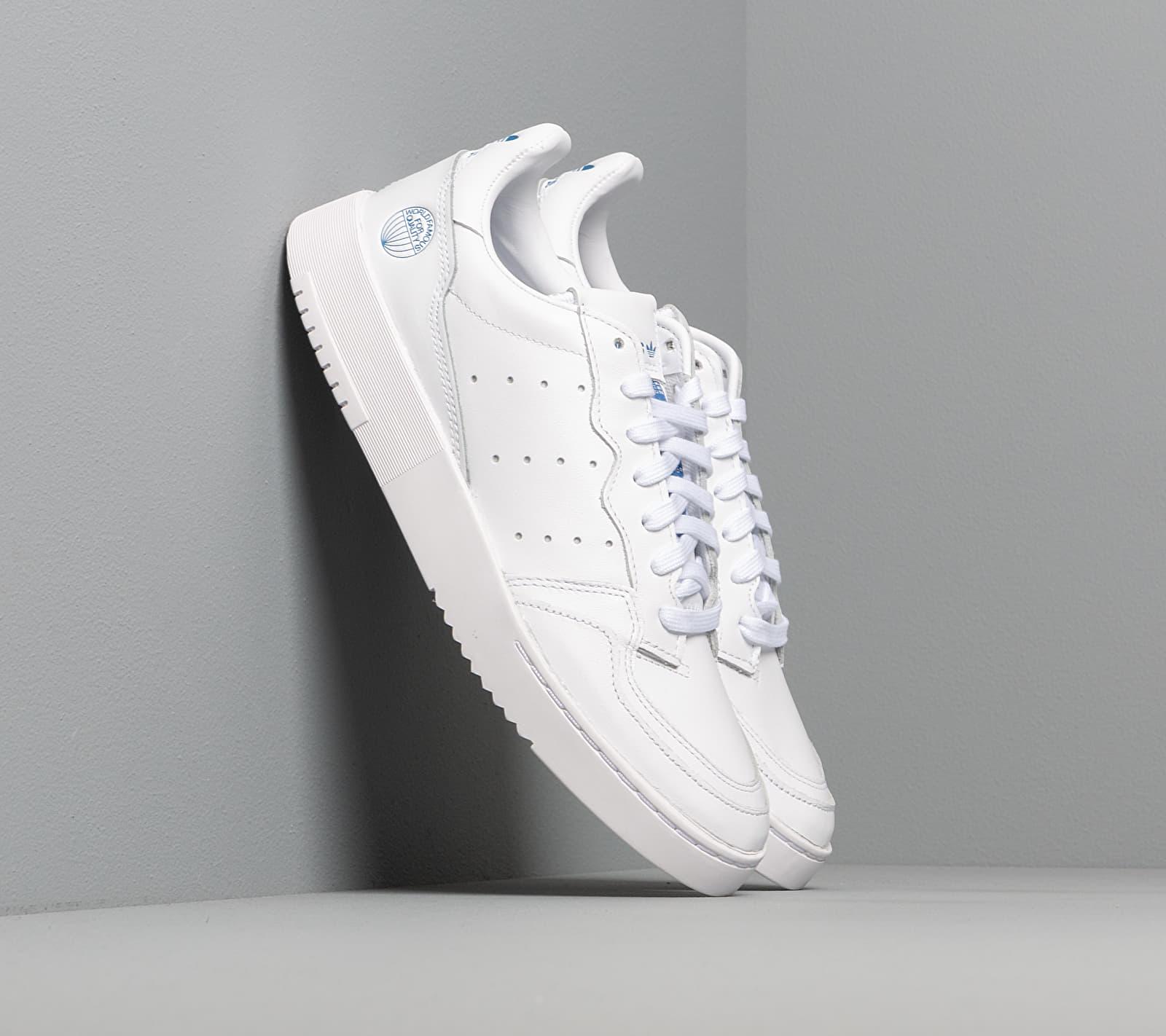 adidas Supercourt Ftw White/ Ftw White/ Blue Bird EF5887