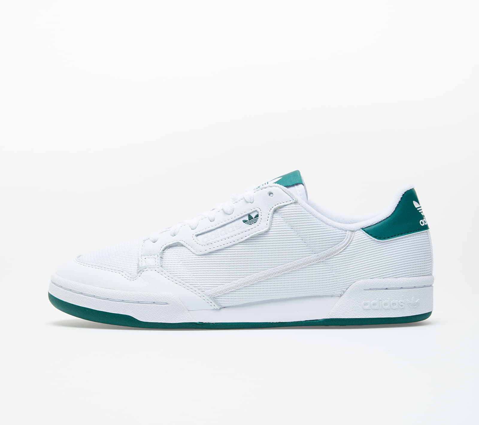adidas Continental 80 Ftw White/ Grey One/ Core Green EF5995