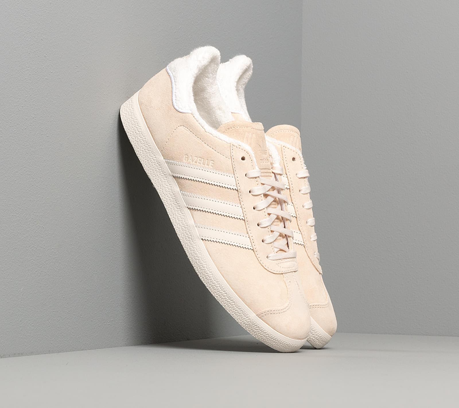 adidas Gazelle Ecru Tint/ Core White/ Ftw White EE5501