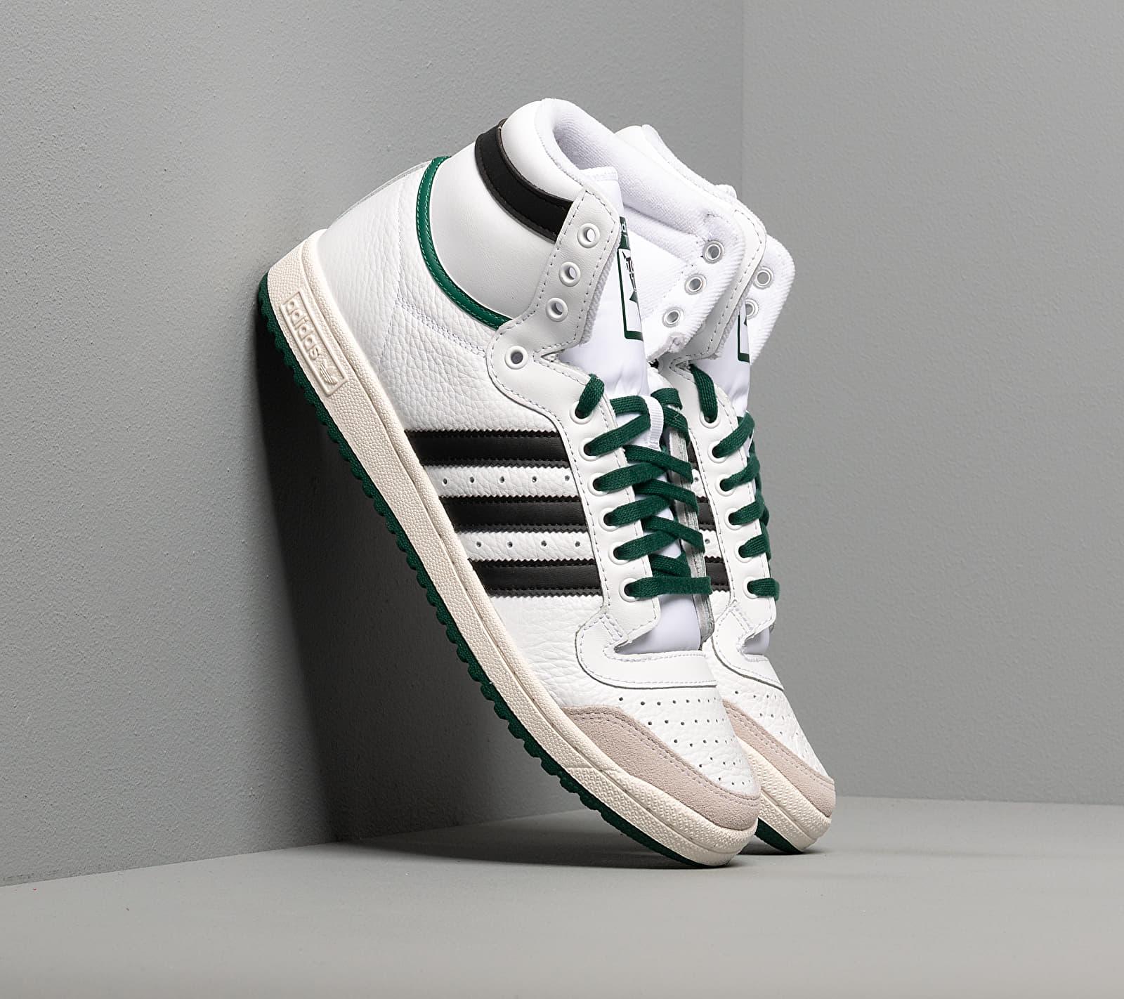 adidas Top Ten Hi Ftw White/ Core Black/ Core Green EF6364