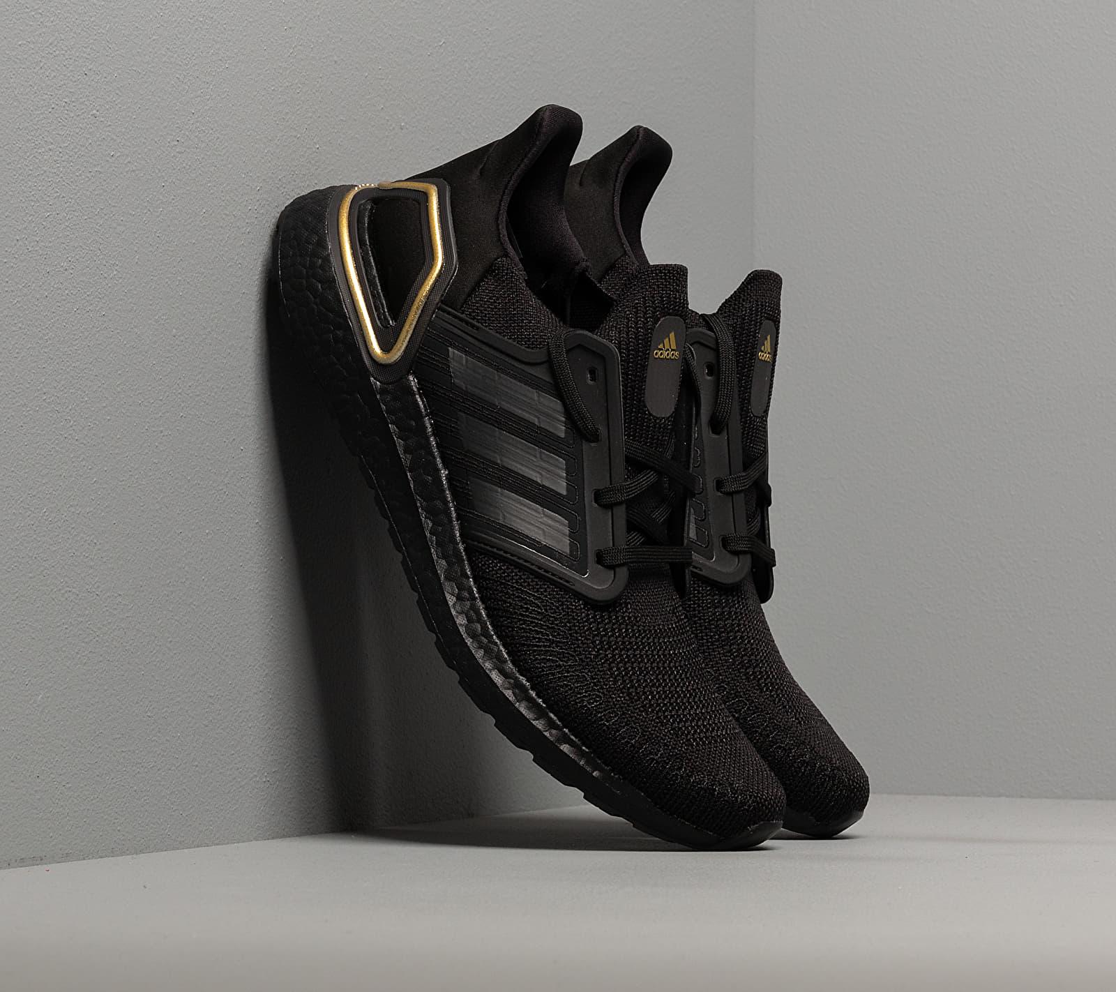 adidas UltraBOOST 20 Core Black/ Core Black/ Gold Metalic EG0754