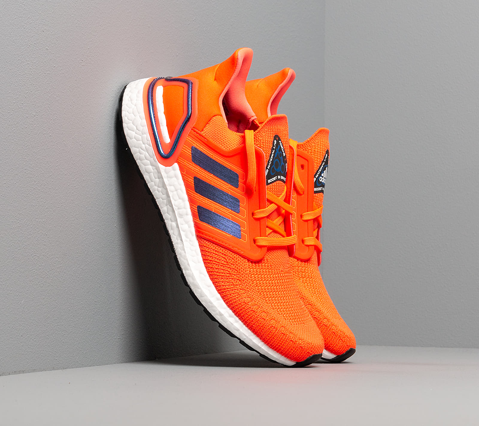 adidas UltraBOOST 20 Solid Red/ Blue Vime/ Ftw White FV8449
