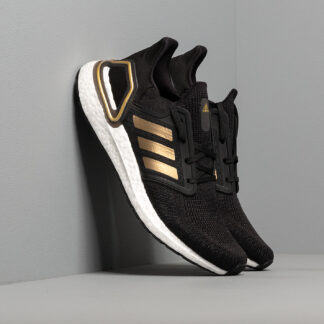 adidas UltraBOOST 20 Core Black/ Gold Metalic/ Solid Red EE4393