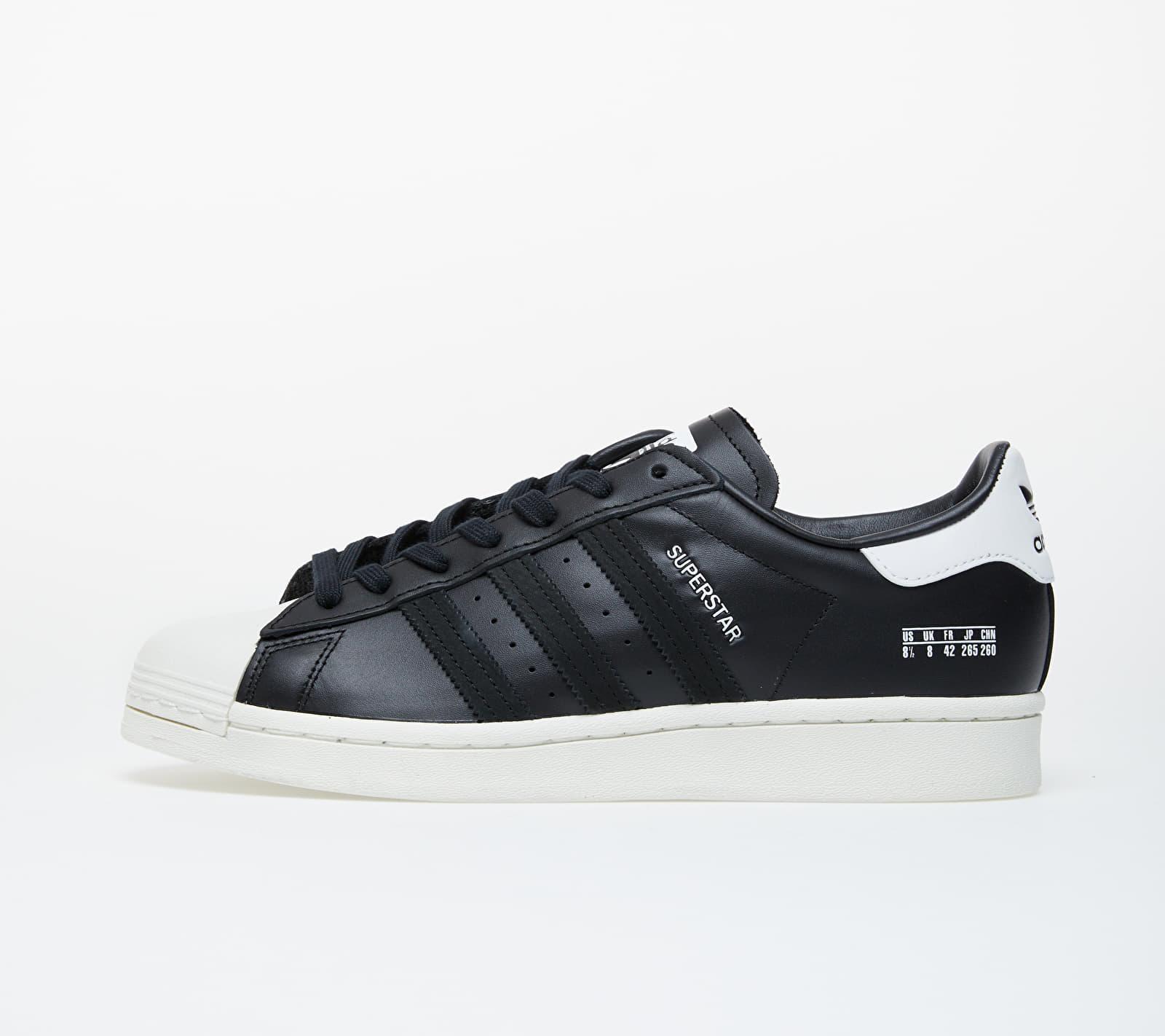 adidas Superstar Core Black/ Core Black/ Off White FV2809