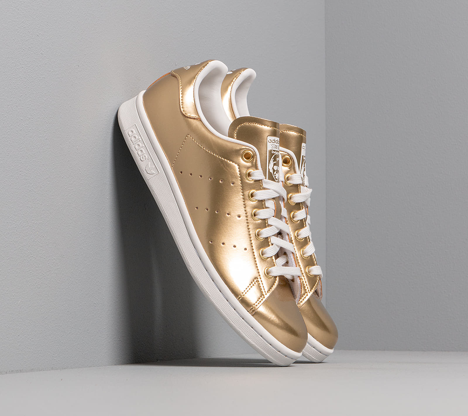 adidas Stan Smith Gold Metalic/ Gold Metalic/ Crystal White FV4298