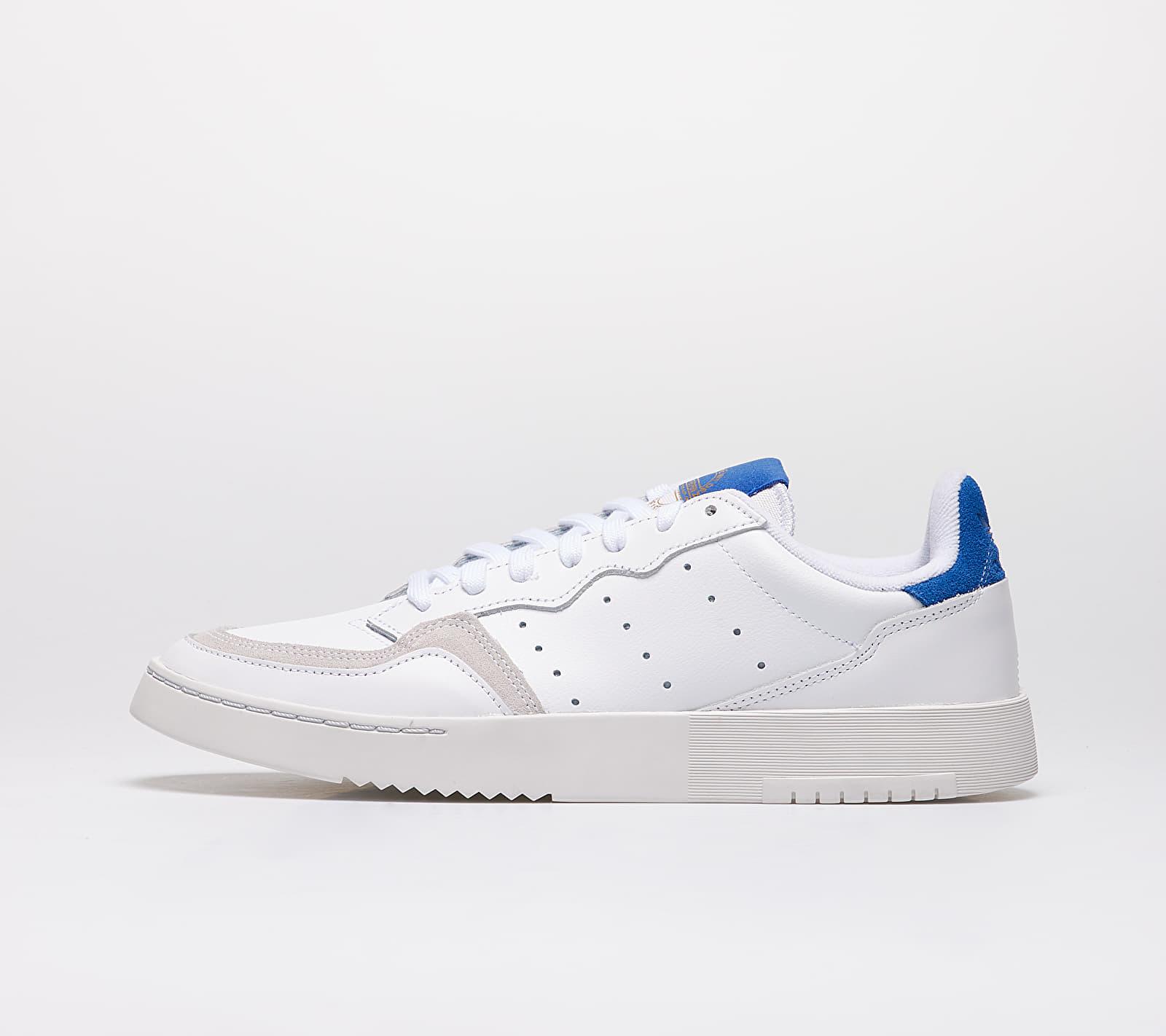 adidas Supercourt Ftw White/ Ftw White/ Royal Blue EF5885