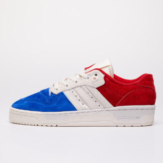 adidas Rivalry Low Royal Blue/ Core White/ Scarlet EF6414