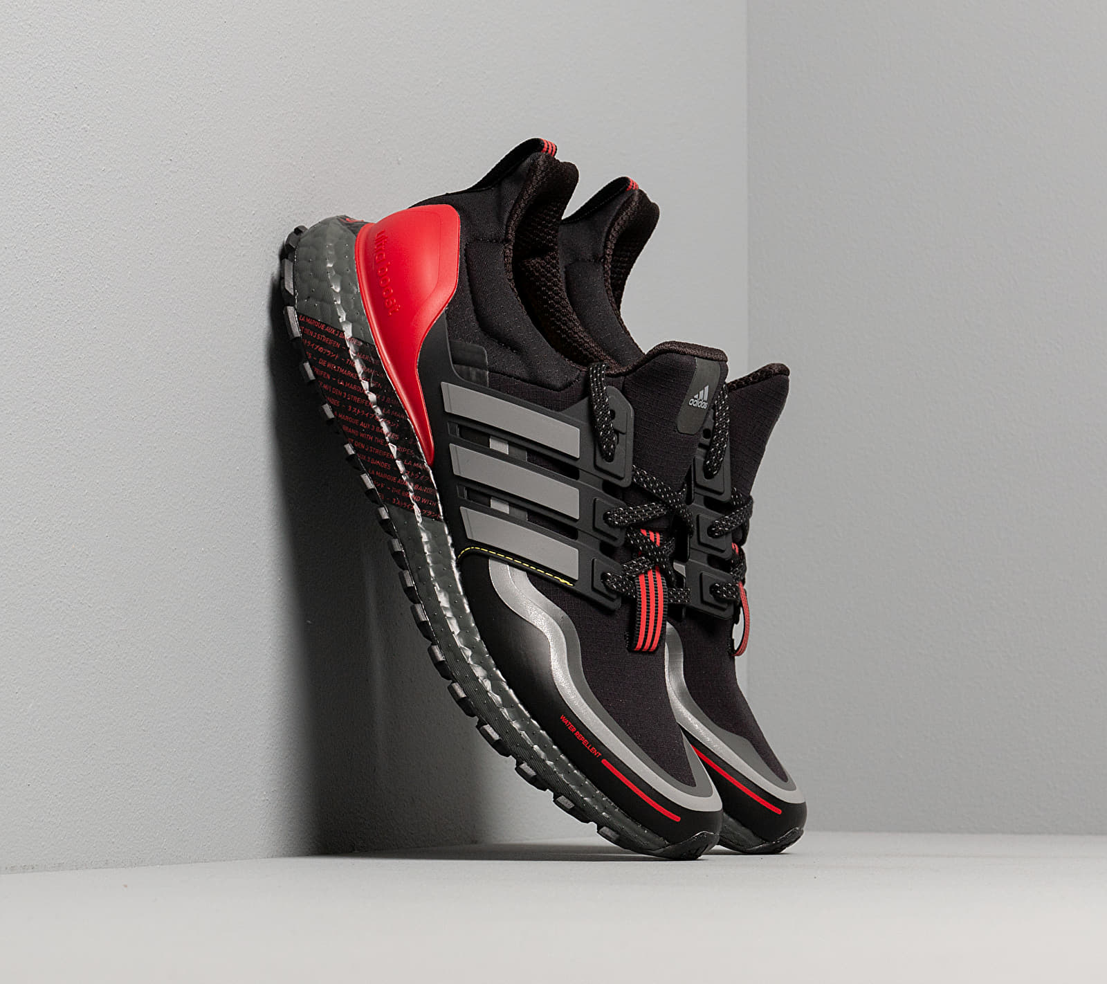 adidas UltraBOOST Guard Core Black/ Grey Three/ Scarlet FU9464