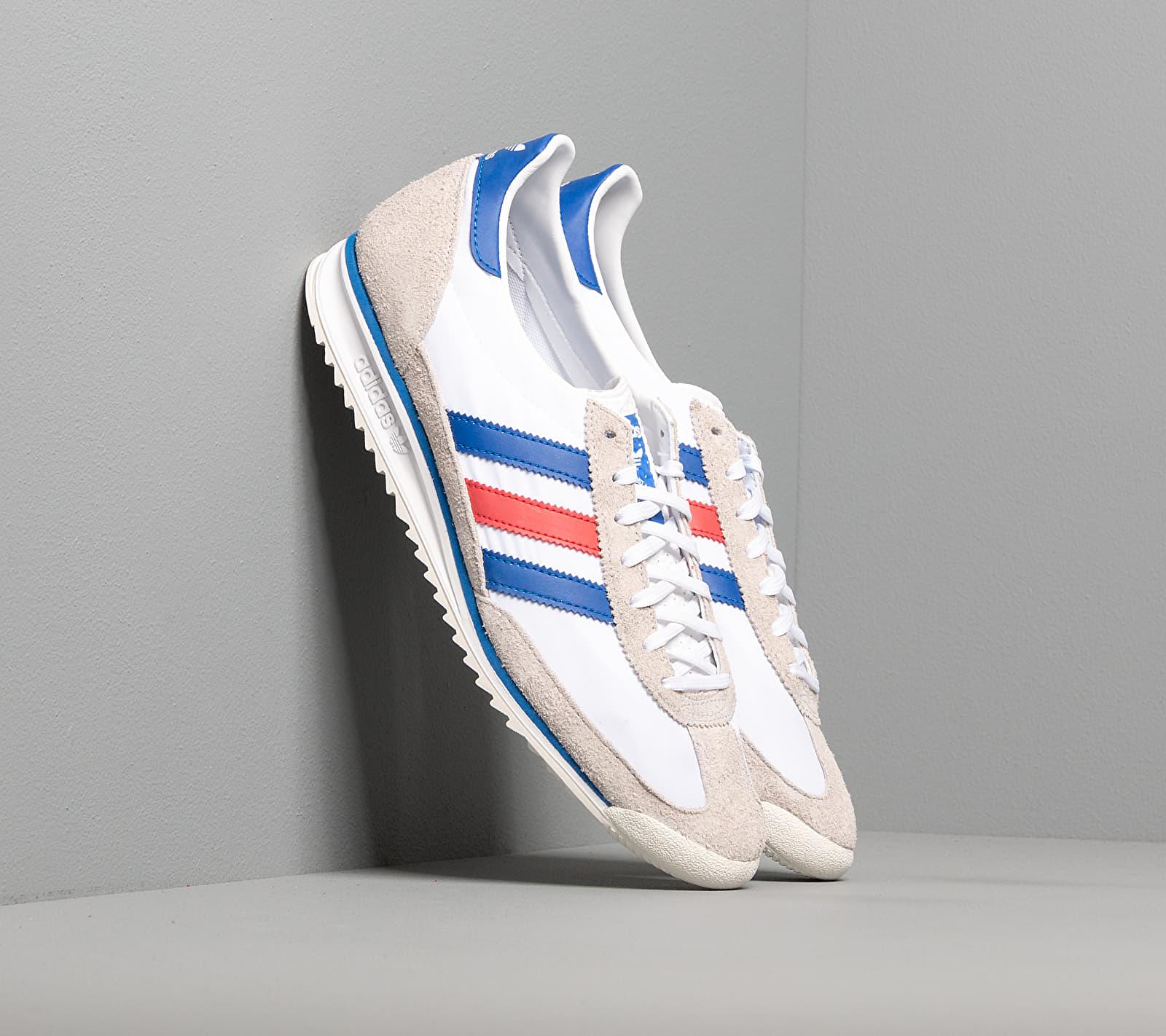 adidas SL 72 Ftw White/ Glow Blue/ Glow Red FV4430
