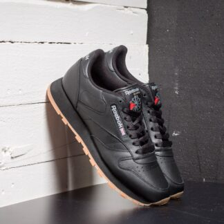 Reebok Classic Leather Black/ Gum 49800