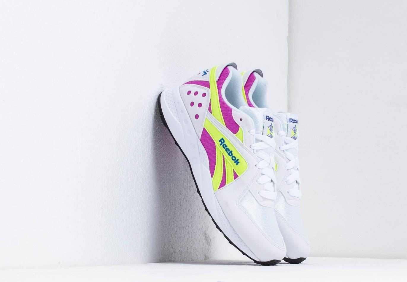 Reebok Pyro White/ Violet/ Neon/ Cobalt DV4847