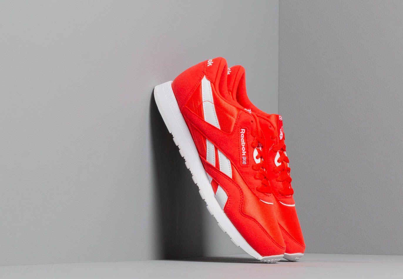 Reebok Classic Nylon Color Canton Red/ White CN7446