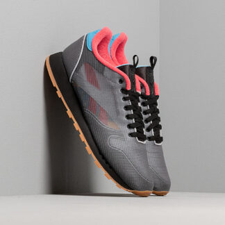 Reebok Classic Leather Nu Black/ Cyan/ Hype Pink DV7219