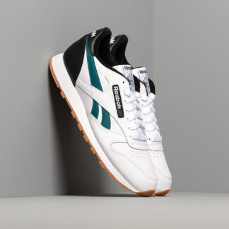 Reebok Classic Leather MU White/ Black/ Heritage Teal EF7832