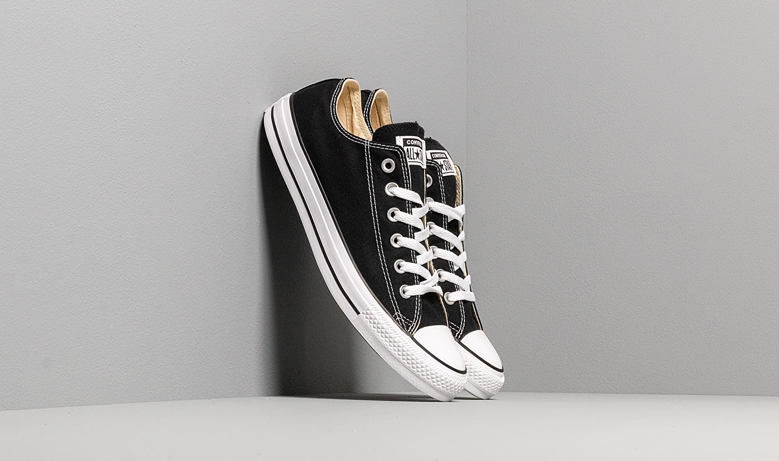 Converse All Star Low Trainers - Black M9166C