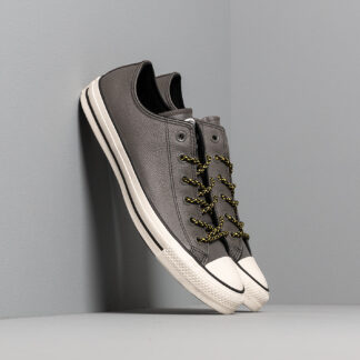 Converse Chuck Taylor All Star Archival Leather Carbon Grey/ Vivid Sulfur/ Egret 165961C