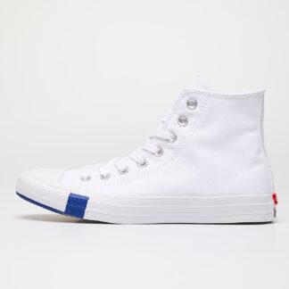 Converse Chuck Taylor All Star Hi White/ Rush Blue 166735C