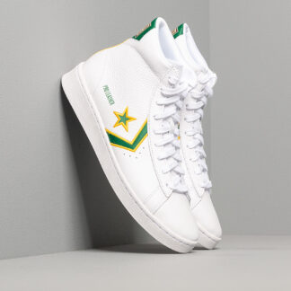 Converse Pro Leather Gold Standard White/Green 167061C