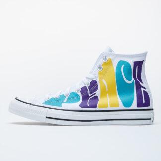Converse Chuck Taylor All Star White/ Purple 167892C