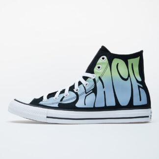 Converse Chuck Taylor All Star Black/ Green 167891C