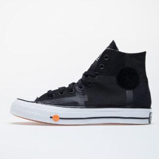 Converse x Rokit Chuck 70 Hi Black/ White/ Black 168211C