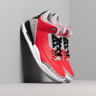 Air Jordan 3 Retro U Varsity Red/ Varsity Red-Cement Grey CU2277-600