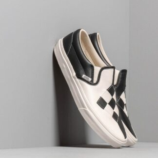 Vans Classic Slip-On (Woven Leather) Checkerboard VN0A38F7VMW1