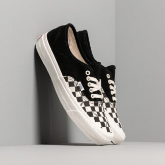 Vans OG Authentic LX (Suede/ Canvas) Black/ Checkerboard VN0A45JJVQA1