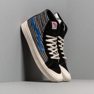 Vans Comfycush Style 1 (Suede/ Canvas) Black/ White VN0A4BTKVQA1