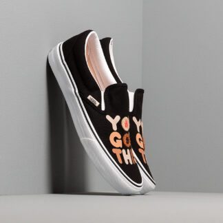 Vans Breast Cancer Awareness Classic Slip-On You Got This/ True White VN0A4BV3T4U1