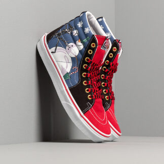 Vans x Nightmare The Before Christmas SK8-Hi (DISNEY) Christmas/ Night/ Blue/ Red VN0A4BV6T331