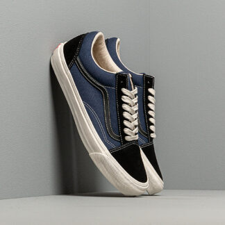 Vans OG Old Skool LX (Suede/ Canvas) Black/ Navy VN0A38FWVYY1