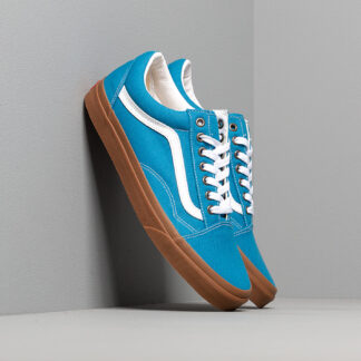 Vans Old Skool (Gum) Mediterranean Blue/ True White VN0A4U3BWYZ1