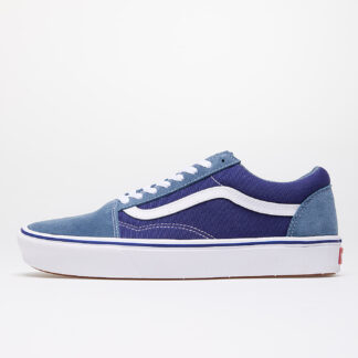 Vans ComfyCush Old Skool (Suede/ Textile) Denim/ Blue VN0A3WMAWX01