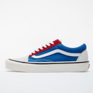 Vans Old Skool 36 DX (Anaheim Factory) Og White/ Og Blue/ Og Red VN0A38G2XFN1