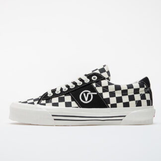 Vans OG Sid LX (Canvas/ Checkerboard) Black/ White VN0A4U13XC81
