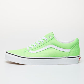 Vans Old Skool (Neon) Green Gecko/ True White VN0A4U3BWT51