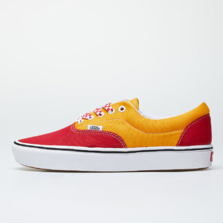Vans ComfyCush Era (Lace Mix) Red/ Cadmium Yellow VN0A3WM9WWJ1