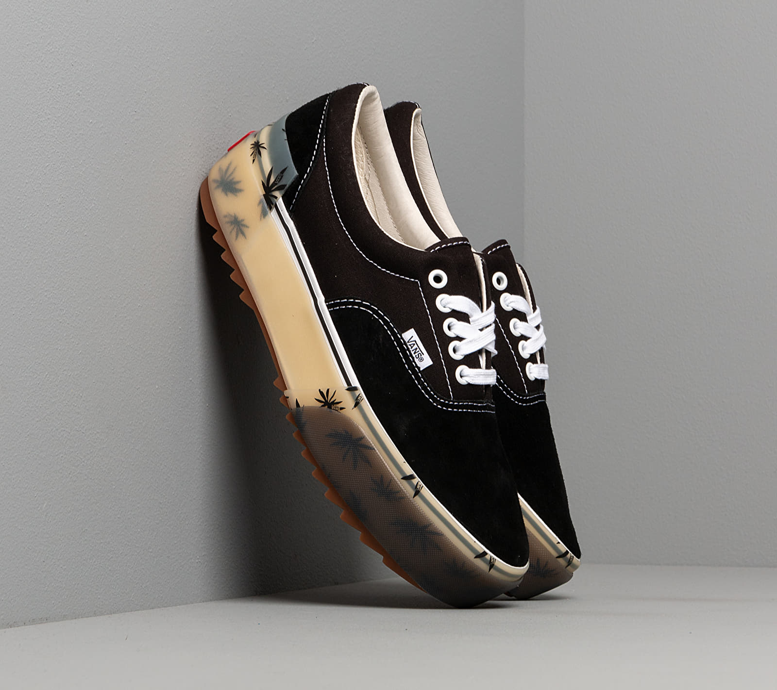 Vans Era Stacked LX (Suede/ Canvas) Black VN0A4U4CXA51