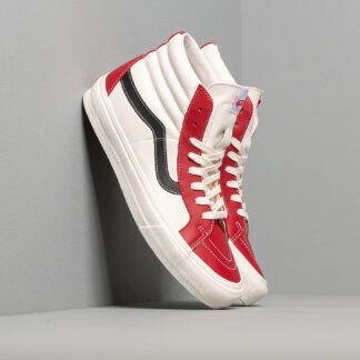 Vans Sk8-Hi Reissue Vl (Leather) Chilli Pepper/ Marshmallow/ Black VN0A4BVHXHT1