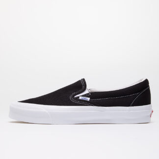 Vans OG Classic Slip-On (Canvas) Black/ True White VN0A45JK1WX1