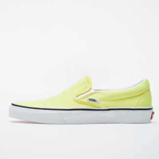 Vans Classic Slip-On (Neon) Lemon Tonic/ True White VN0A4U38WT71