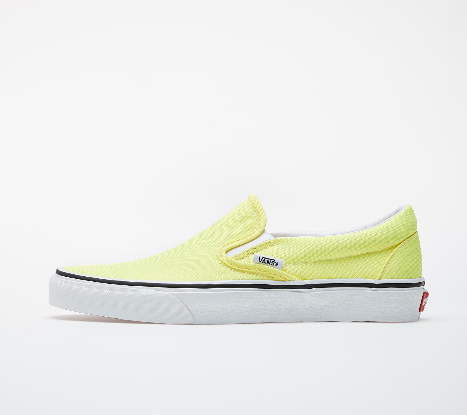 Vans Classic Slip-On (Neon) Lemon Tonic/ True White VN0A4U38WT71